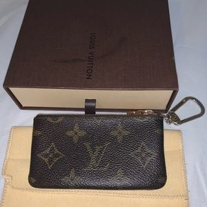 ❌SOLD❌ AUTH Louis Vuitton Key Pouch/Card Holder